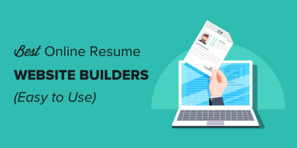 6 Best Online Resume Website Builders (Easy to Use)