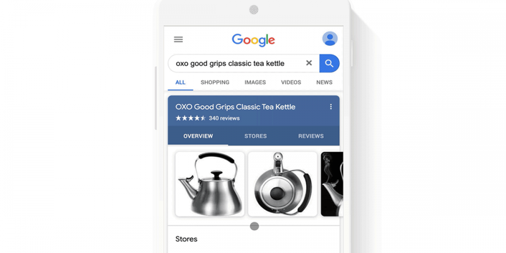 Free Google product listings expand to knowledge panels in Search results