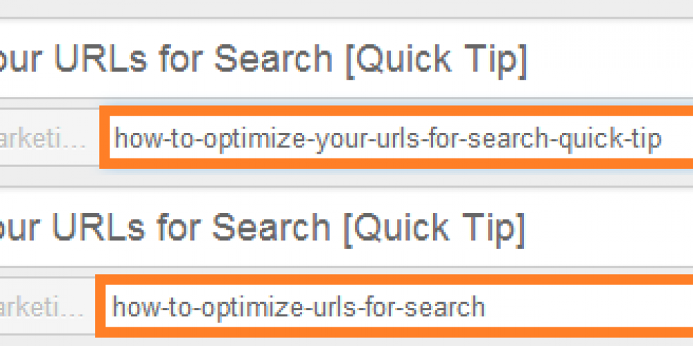 How to Optimize Your URLs for Search [Quick Tip]
