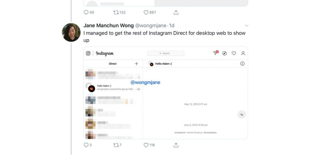 Instagram is Bringing Direct Messaging to its Desktop Site via @MattGSouthern