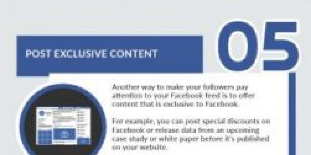 8 Ways to Increase Facebook Page Engagement [Infographic]