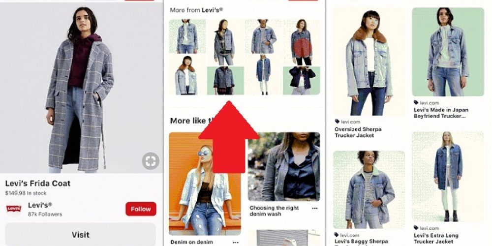 Levi's Uses Pinterest's Advanced Style Matching to Create Customized, Branded Boards