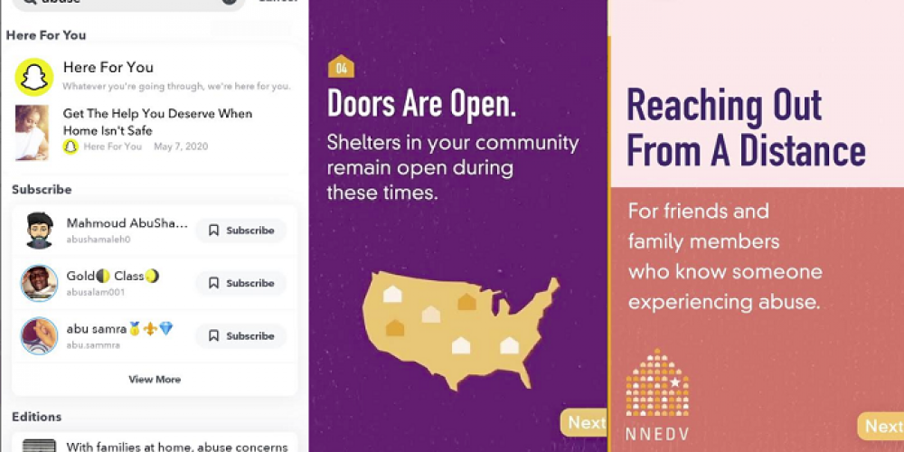 Snapchat Announces New Resources to Assist Users Dealing with Domestic Violence