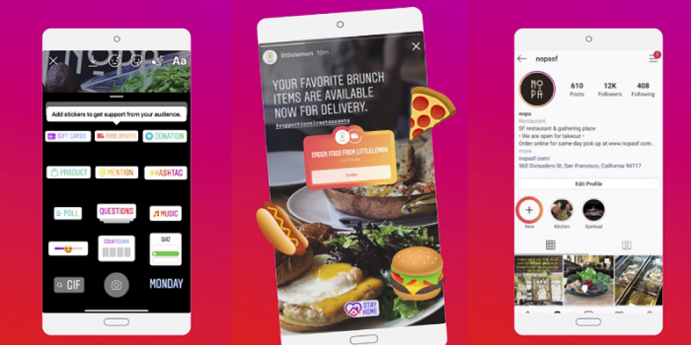 Instagram Provides Tips on How Brands Can Use Stories to Connect With Audiences Amid COVID-19