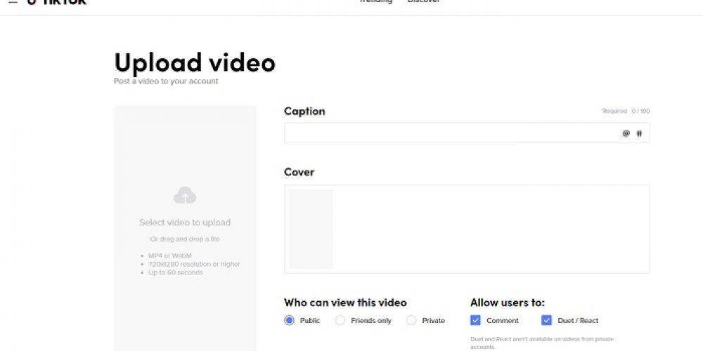 TikTok Now Enables Web Login, Including Access to Analytics and Video Uploads via Desktop