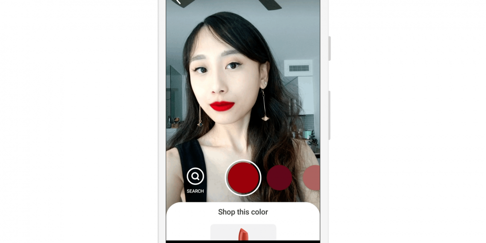 Pinterest Adds New AR 'Try-On' Feature for Lipstick Shades