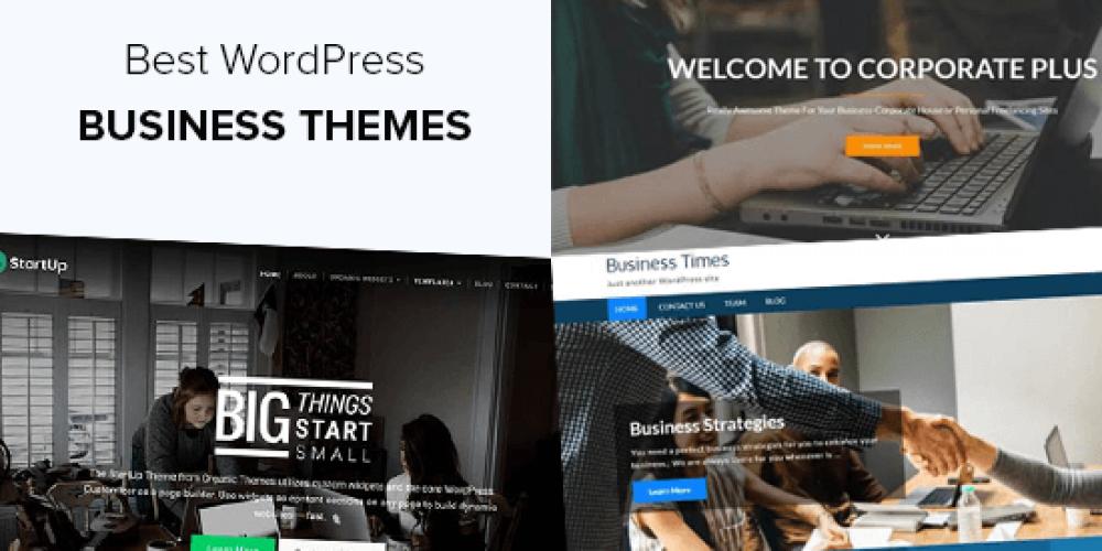 30+ Best WordPress Business Themes (2020)
