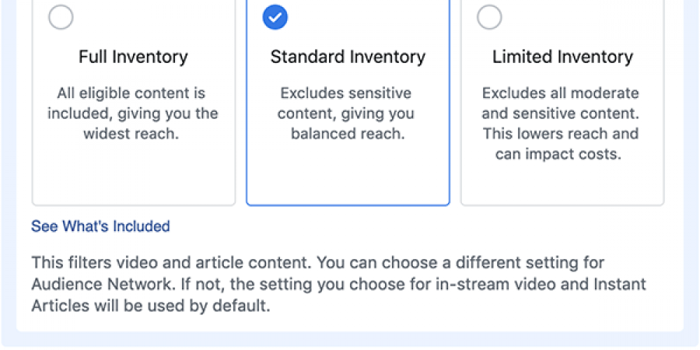 Facebook Adds New Options for Brands to Control Ad Placements