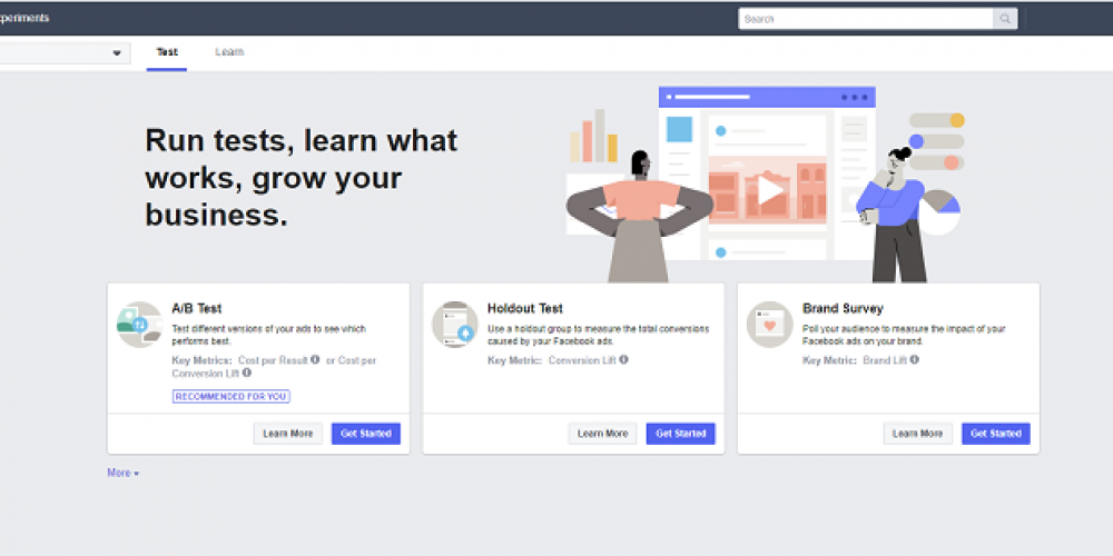 Facebook's Added a New 'Experiments' Element to Ad Manager to Help Optimize Ad Performance