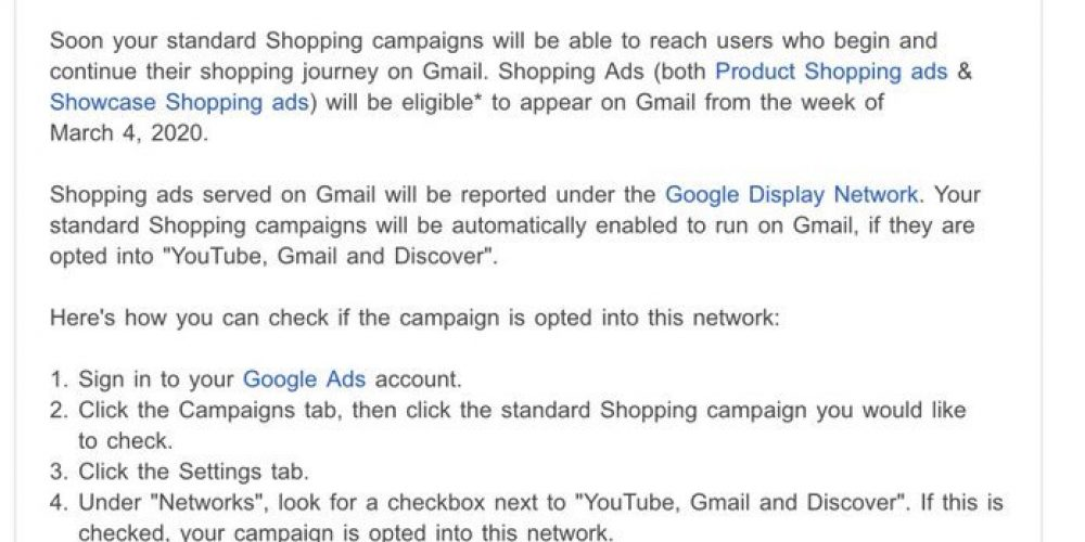 New to Advertisers: Gmail Shopping Ads Allow You to Reach Consumers in Multiple Ways