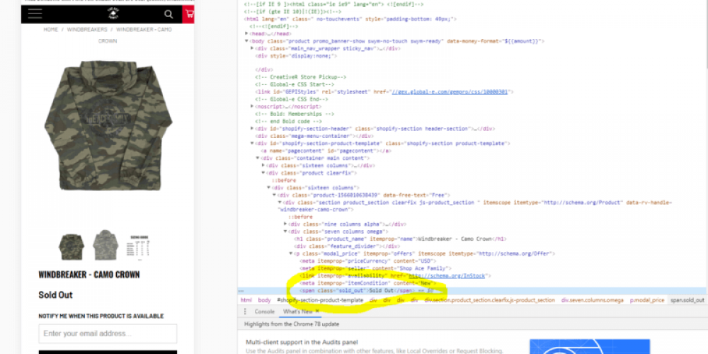 Pause out of stock products with this Google Ads Script