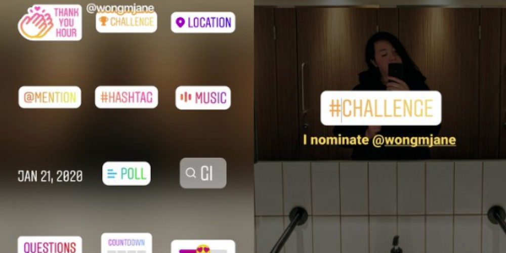 Instagram is Testing a New 'Challenge' Sticker to Prompt User Engagement