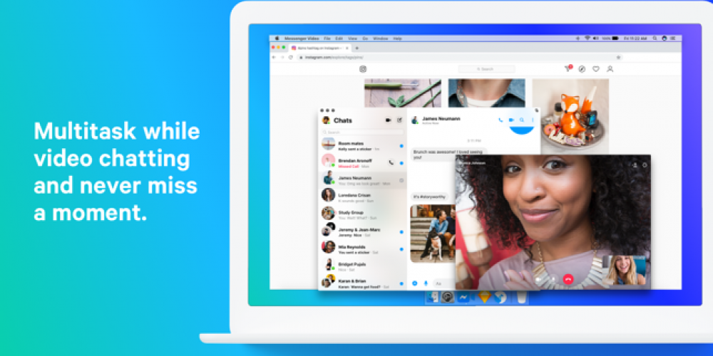 Facebook Launches Messenger for macOS in Selected Markets