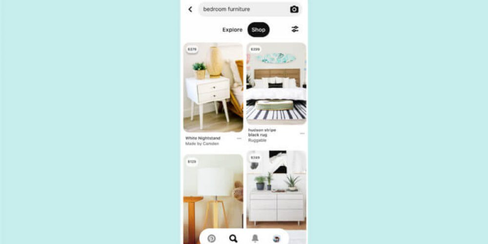 Pinterest boosts ability to 'Shop' for in-stock home decor and fashion products