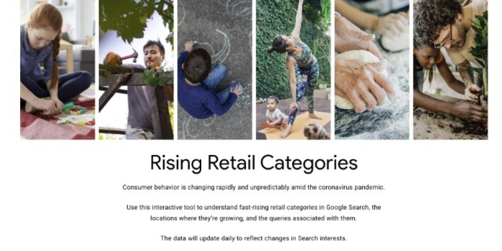 Google Adds Rising Retail Trends Tool to Highlight Products Seeing Higher Demand During COVID-19