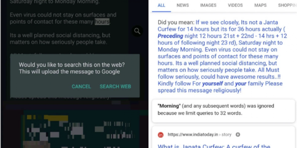 Facebook's Testing New Tools to Combat COVID-19 Misinformation on WhatsApp and Messenger