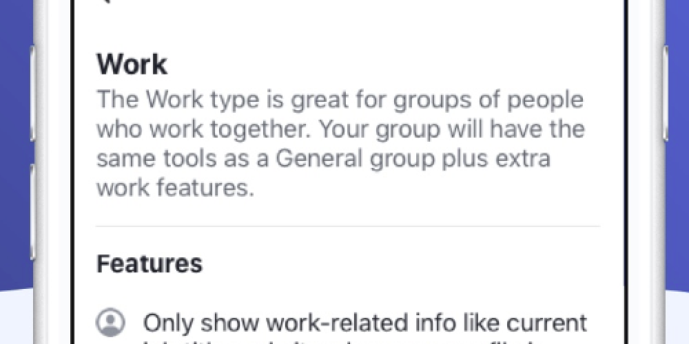 Facebook Launches New Work Groups to Connect with Coworkers on the Platform