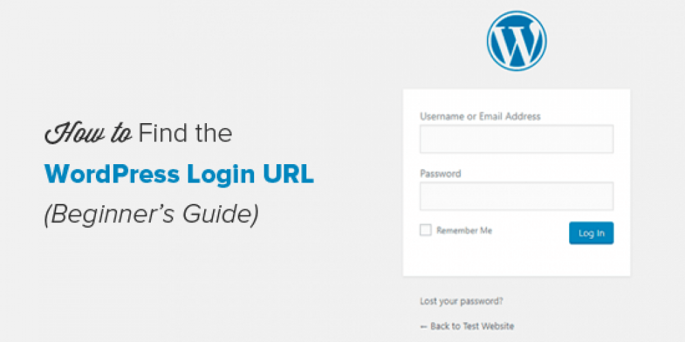 Beginner's Guide: How to Find Your WordPress Login URL