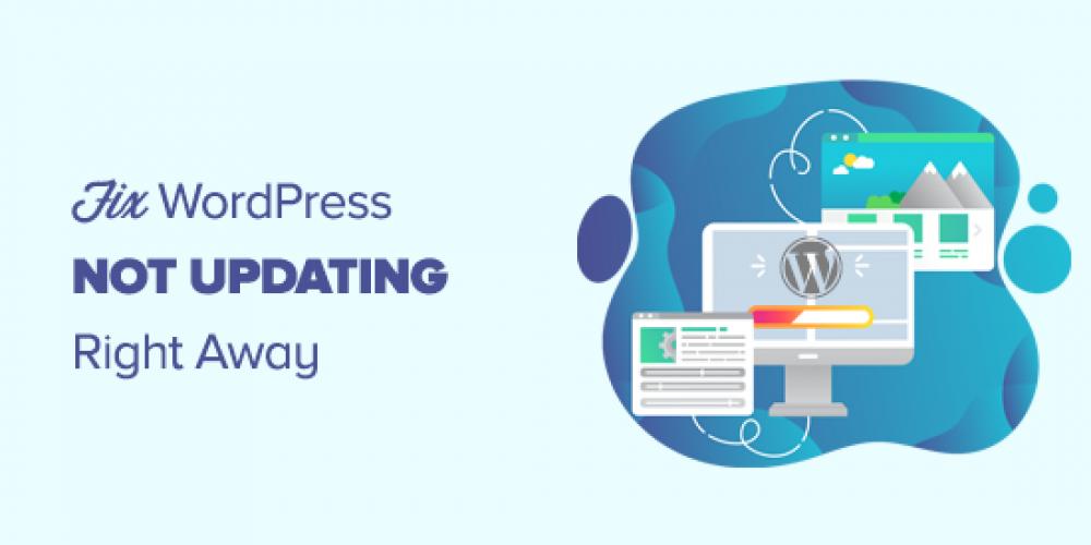 How to Fix WordPress Website Not Updating Right Away