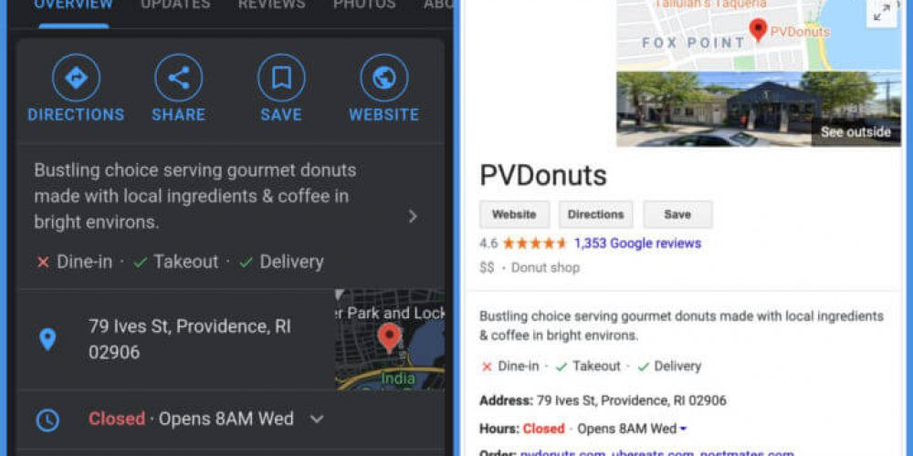 How to optimize your Google local Knowledge Panel