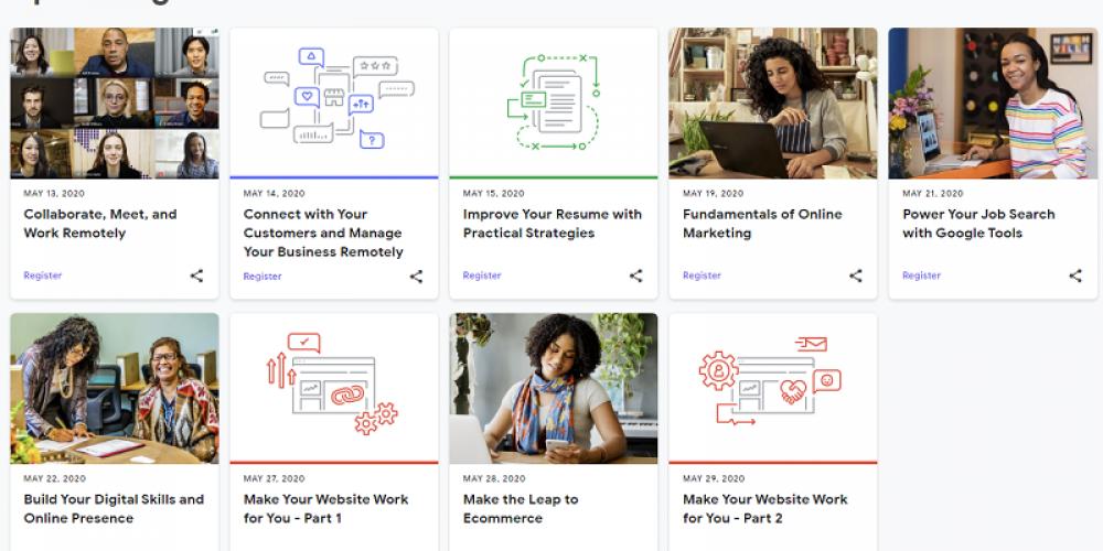 Google Announces New, Free Digital Skills Training Sessions Online