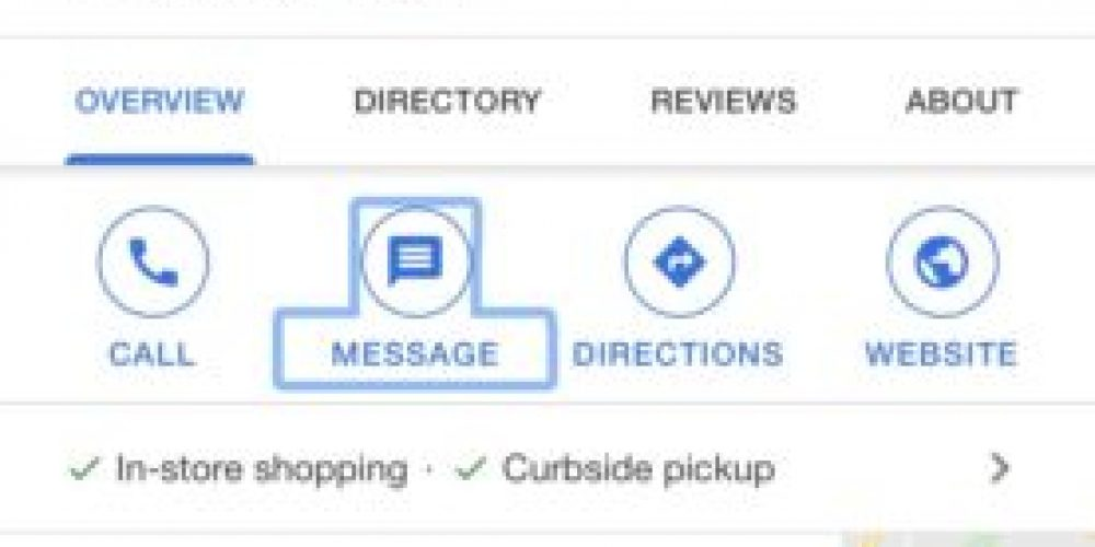 Google upgrades enterprise messaging capabilities in Maps and Search