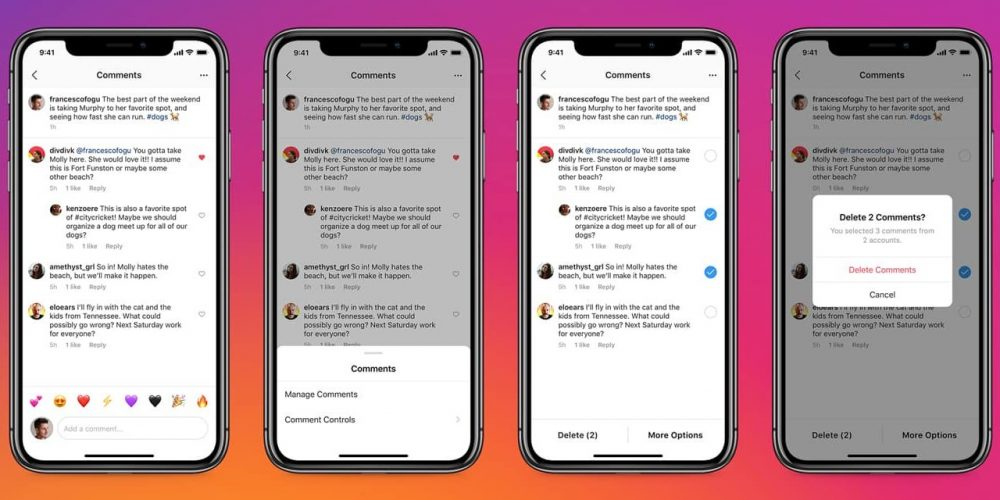 Instagram Adds New Anti-Bullying Measures, Including Bulk Comment Actions and Mention Controls