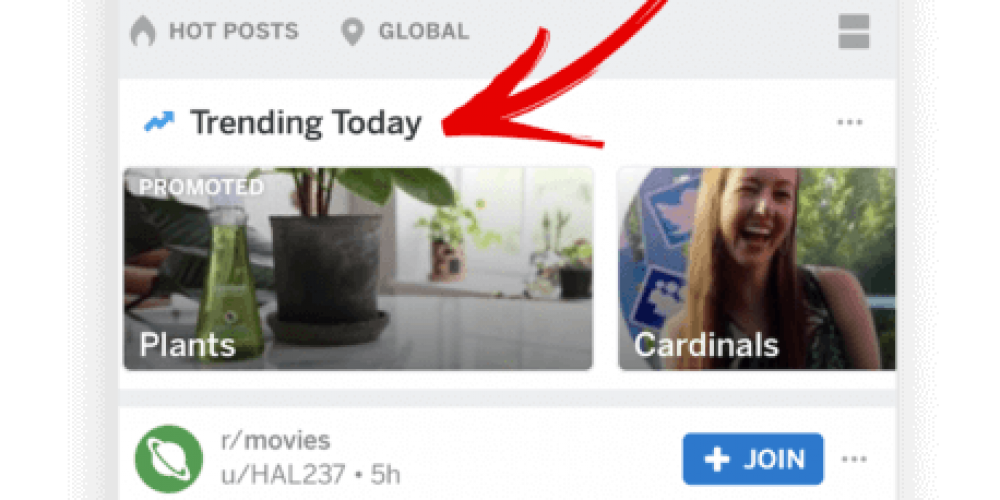 Reddit's new 'Trending Takeover' ad unit lets brands appear on top of Popular feed, Search tab