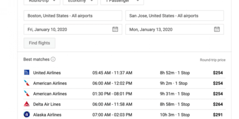 Bing partners with flight booking sites to bolster flight search offerings