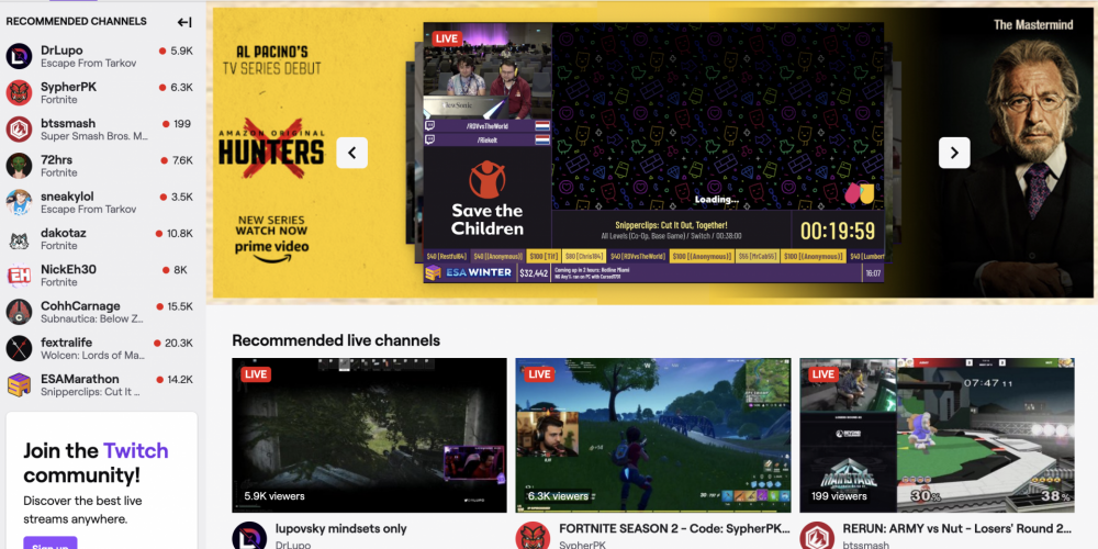 Twitch Is Predicted to Boost Monthly Users 14% to 37.5M This Year
