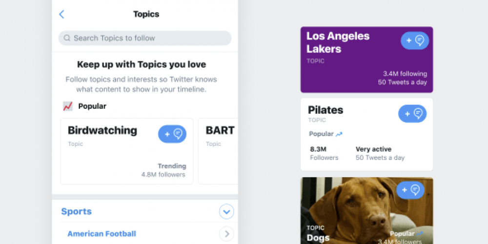 Twitter Previews Potential Enhancements for Lists and Topics, Including Activity Details and Location Sorting