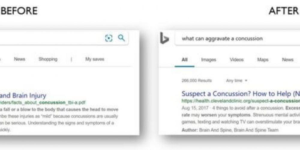 Bing says it has been applying BERT since April