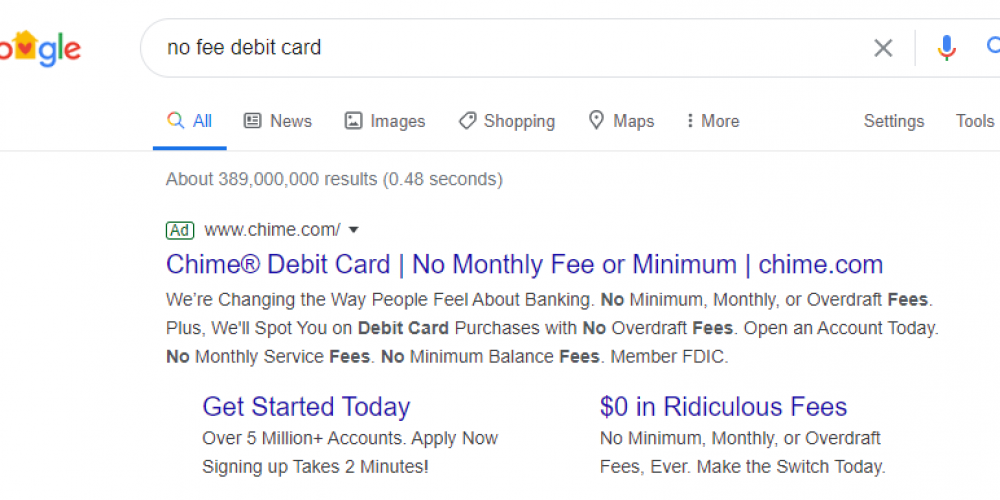 See How Chime is Disrupting Financial Services with Unique Post-Click Experiences (5 Examples)