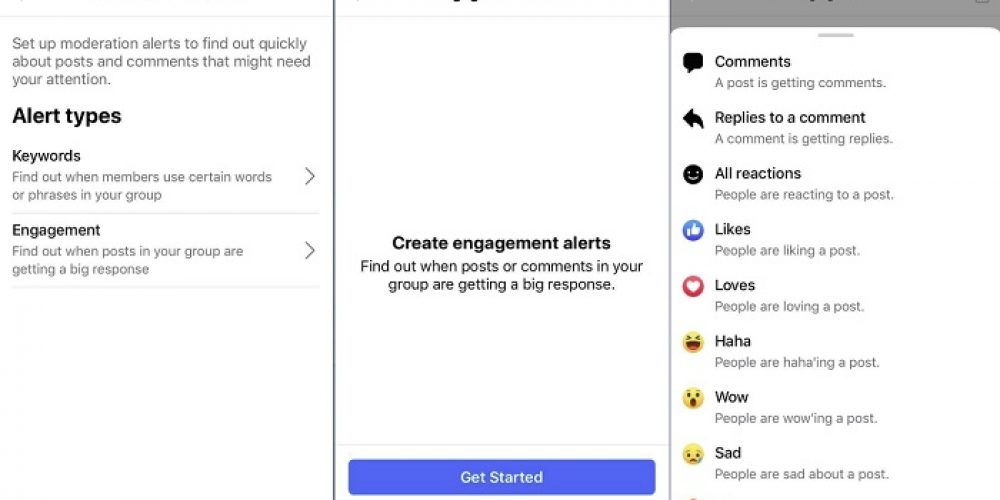 Facebook Tests New 'Engagement Alerts' for Groups to Help Highlight Key Topics and Discussions
