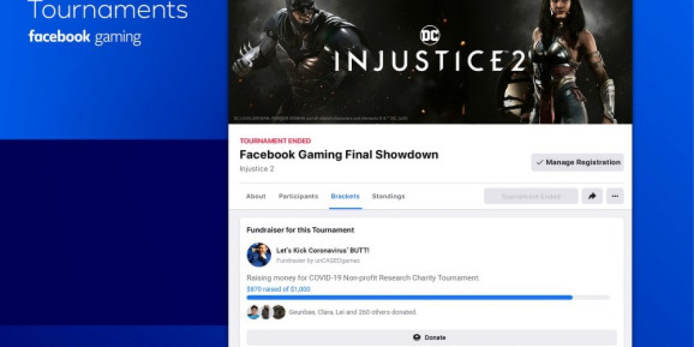 Facebook Has Launched a New Tournaments Option for People to Create Their Own Gaming Events
