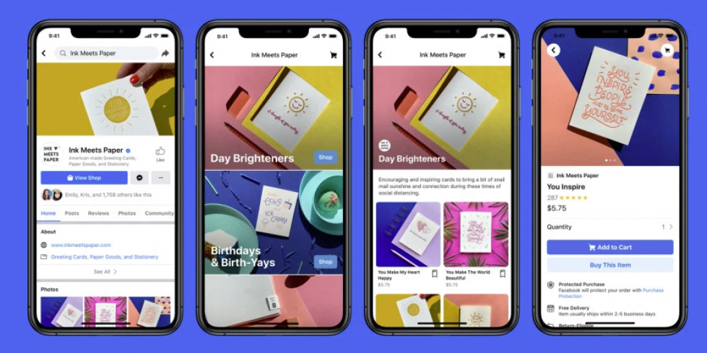 Facebook Announces 'Shops' for Facebook and Instagram