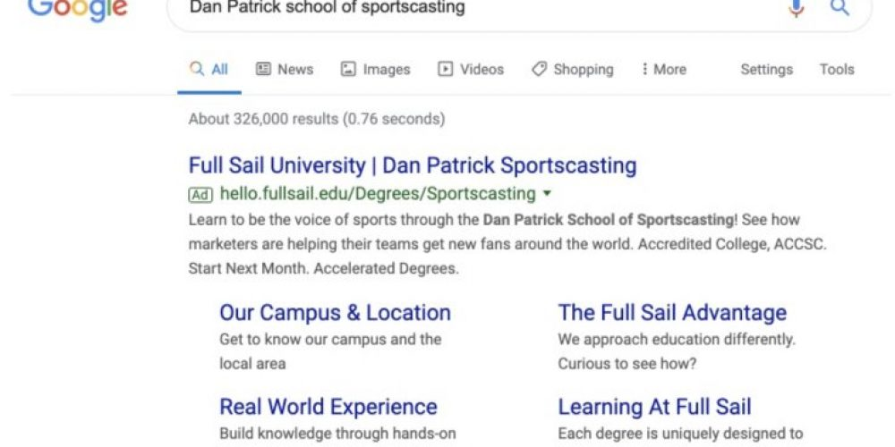See How Full Sail University Increases Student Enrollment with Targeted Post-Click Experiences (3 Examples)