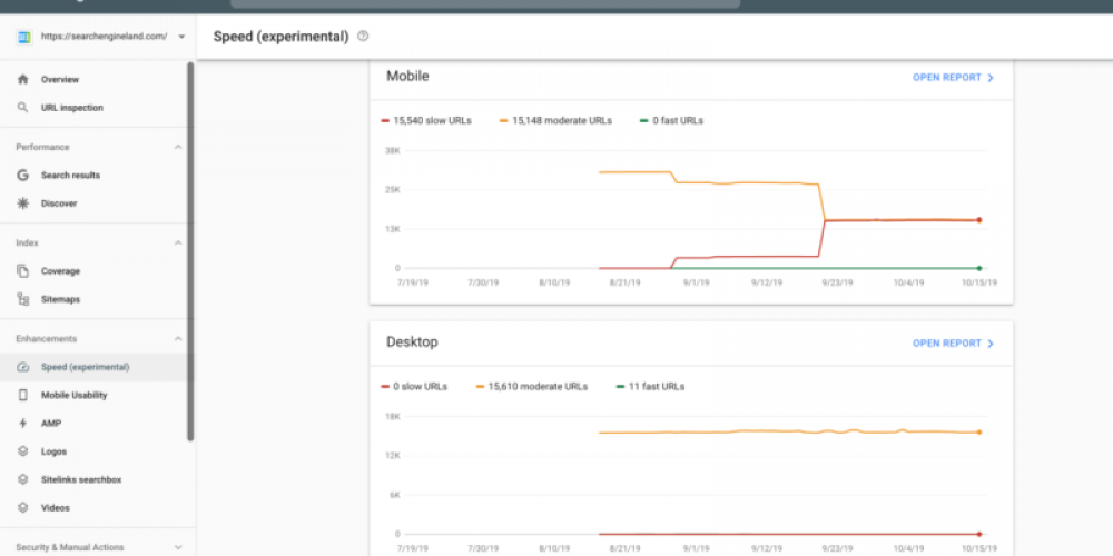 A deeper look at Google Search Console Speed Reports