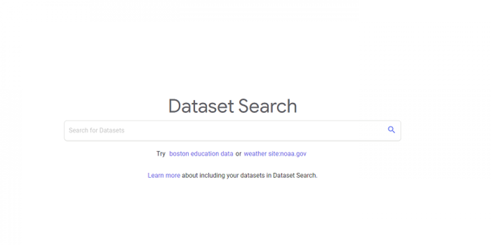 Google Brings its 'Dataset Search' Tool Out of Beta Testing