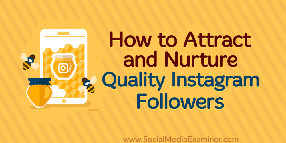How to Attract and Nurture Quality Instagram Followers
