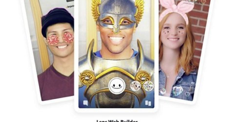 Snapchat Launches 'Lens Web Builder' to Simplify the Creation of AR Lens Campaigns