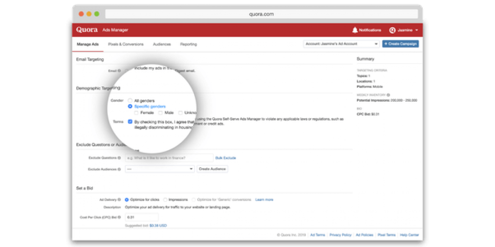 Quora adds 3 new targeting options for advertisers