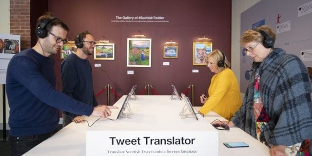 Twitter UK Opens 'Dating Twitter Advice Bureau' Pop-Up Store in London