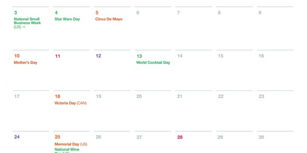 Twitter Outlines Key Dates of Note in May to Assist With Strategic Planning