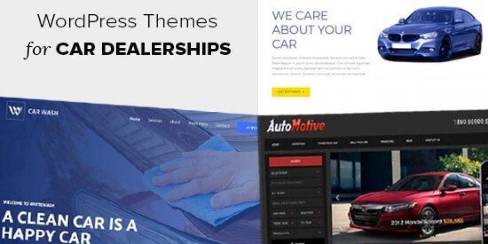 21 Best WordPress Themes for Car Dealerships