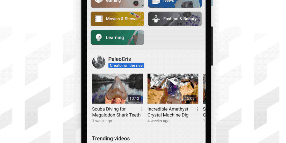 YouTube Switches 'Trending' Tab to 'Explore' Which Will Highlight More Content Categories