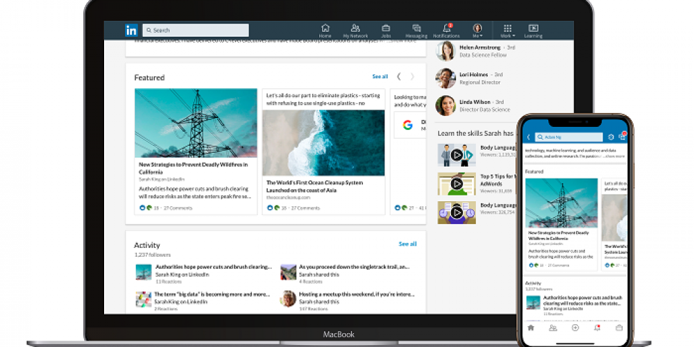 LinkedIn Launches New 'Featured' Section on Profiles to Highlight Key Achievements and Links