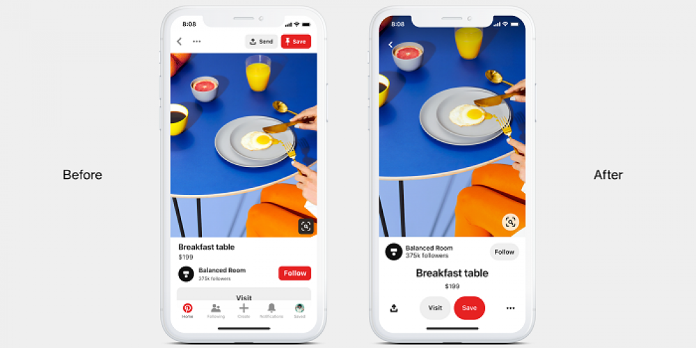 Pinterest Officially Announces New Pin Format Release