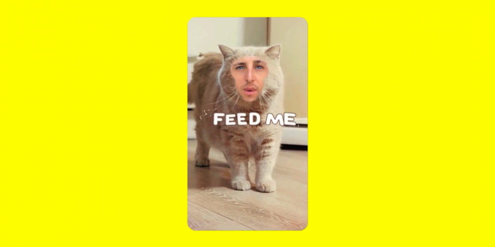 Snapchat Begins Testing 'Cameo' Mode, Which Inserts Your Image into GIFs
