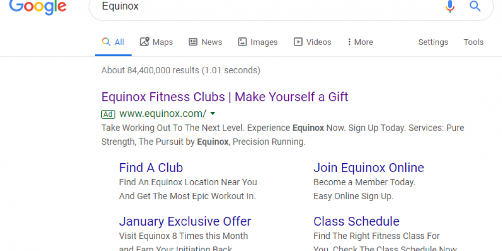 See How Equinox Uses Paid Search Ads & LinkedIn Retargeting with Unique Post-Click Experiences to Generate Signups (3 Examples)